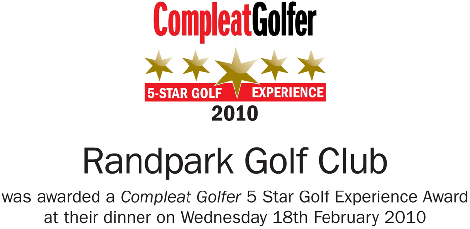 Compleat Golfer 5 Star Golf Experience