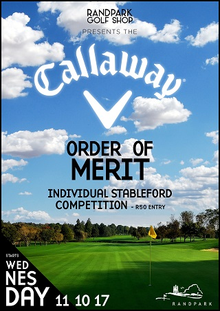 Callaway Order of Merit Competition - Individual Stableford
