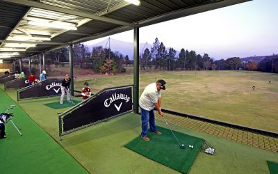 Grand Opening of Driving Range