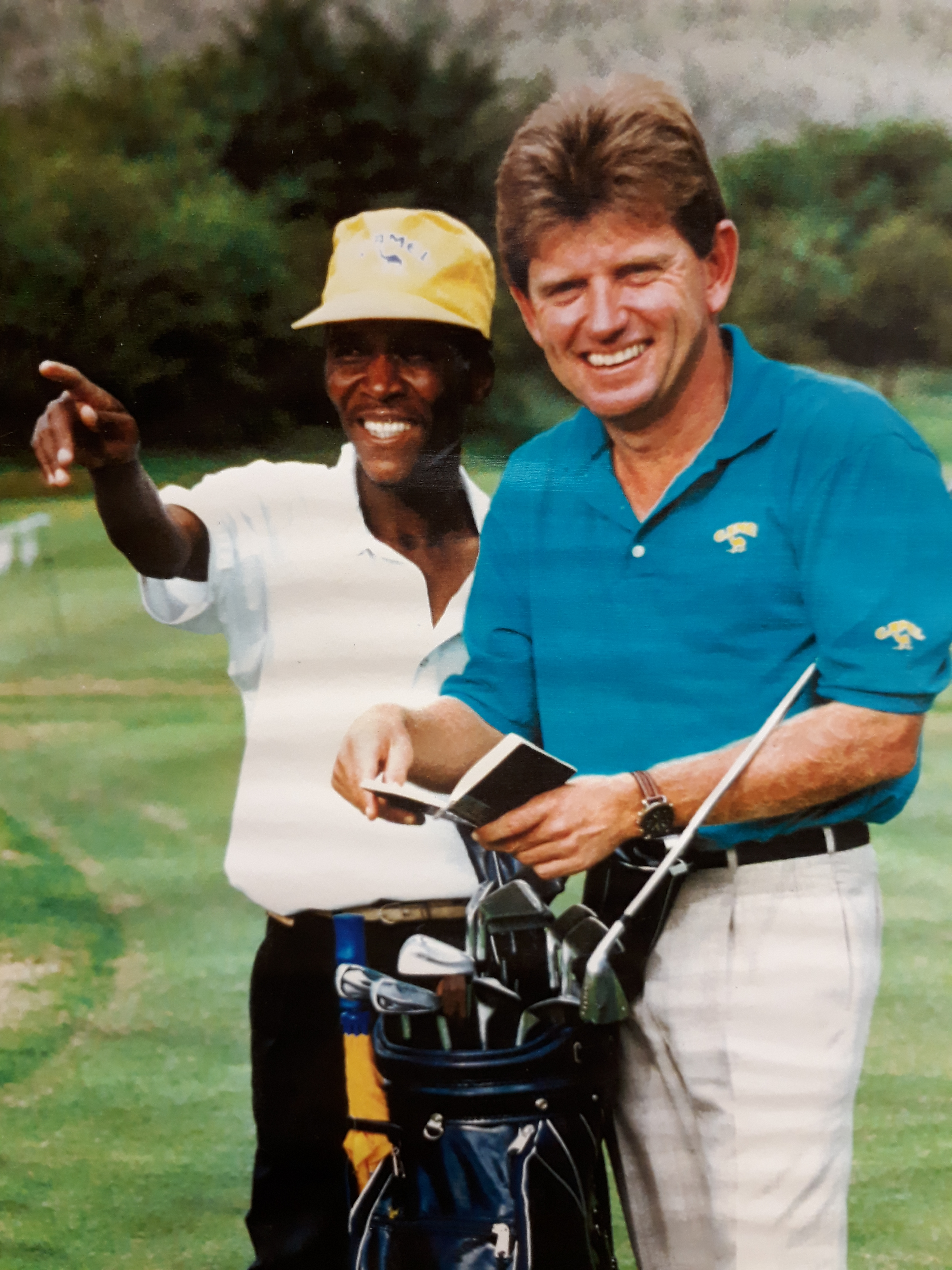 Nick Price chooses Caddie Captain for the Presidents Cup Tournament in the USA