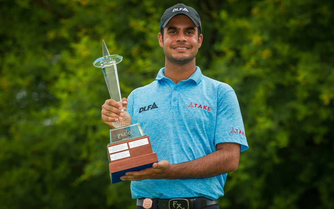 Simple for Sharma in three-shot Joburg Open win