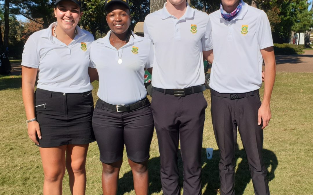 GolfRSA Proteas does SA proud in the USA