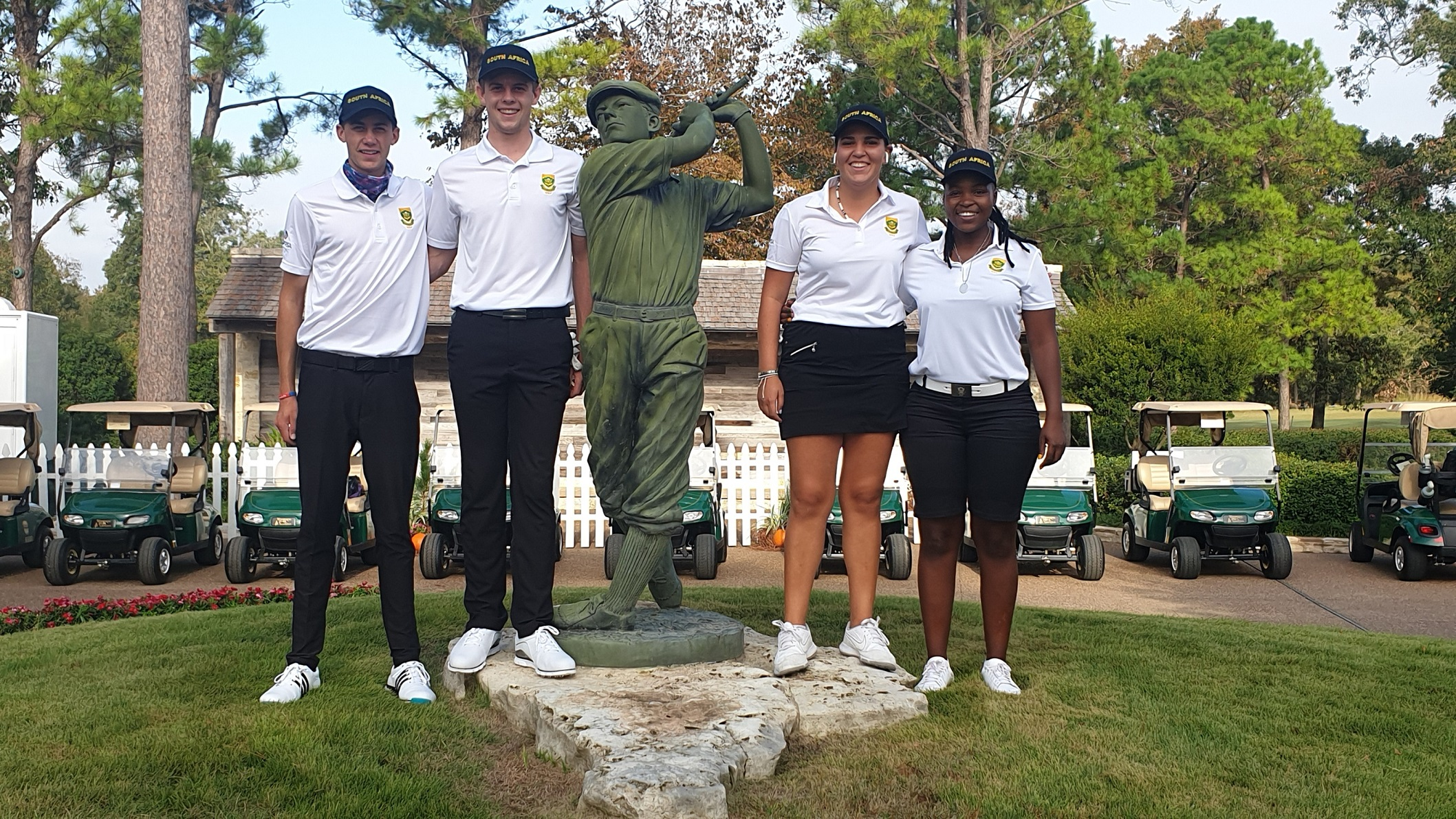 Mixed fortunes for GolfRSA Proteas in Texas