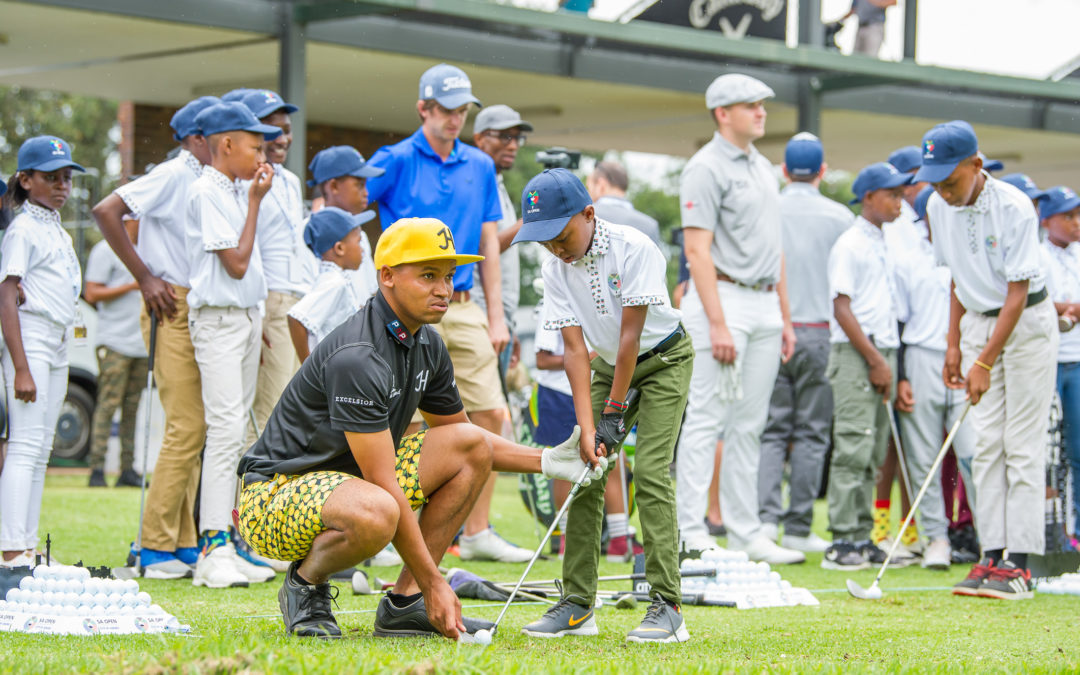 City of Joburg drives growth of golf through South African Open