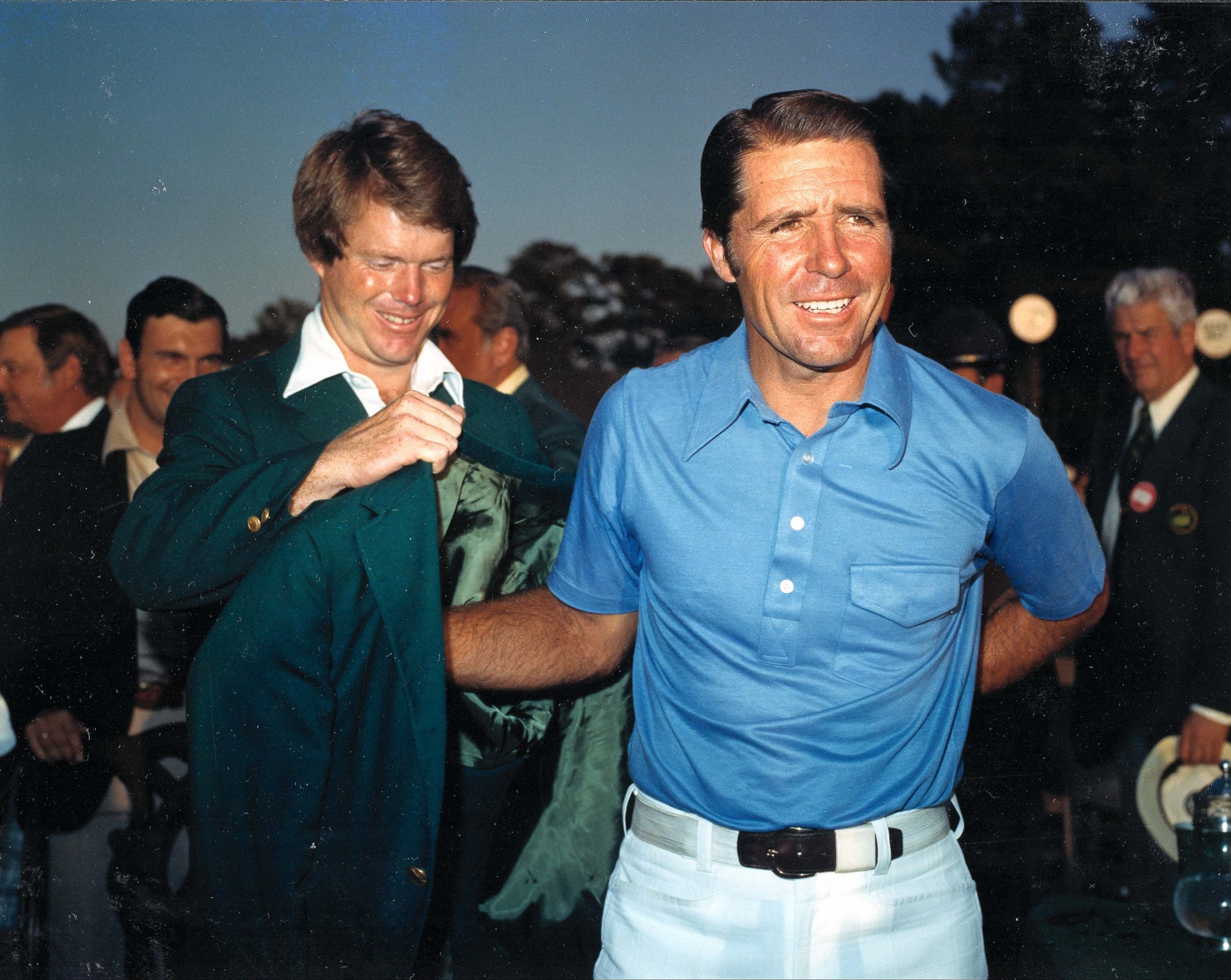 The Masters Then and Now