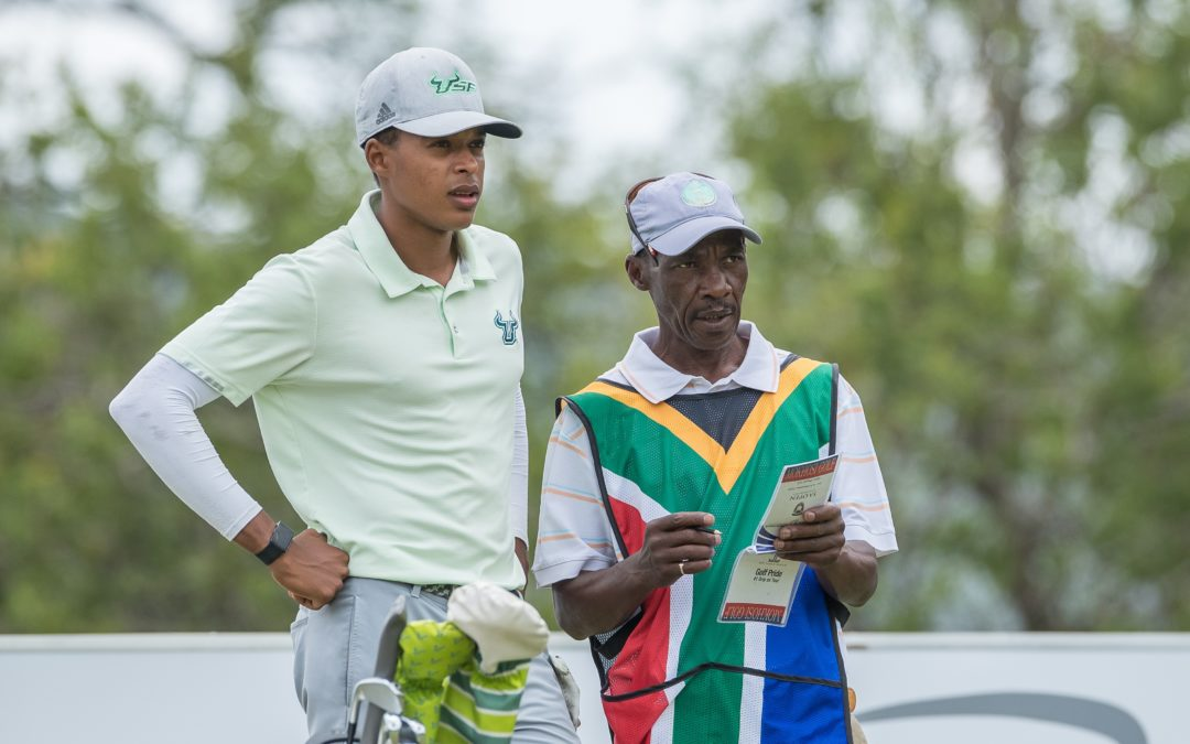 Randpark's Massimo Mbetse is big on brains and birdies