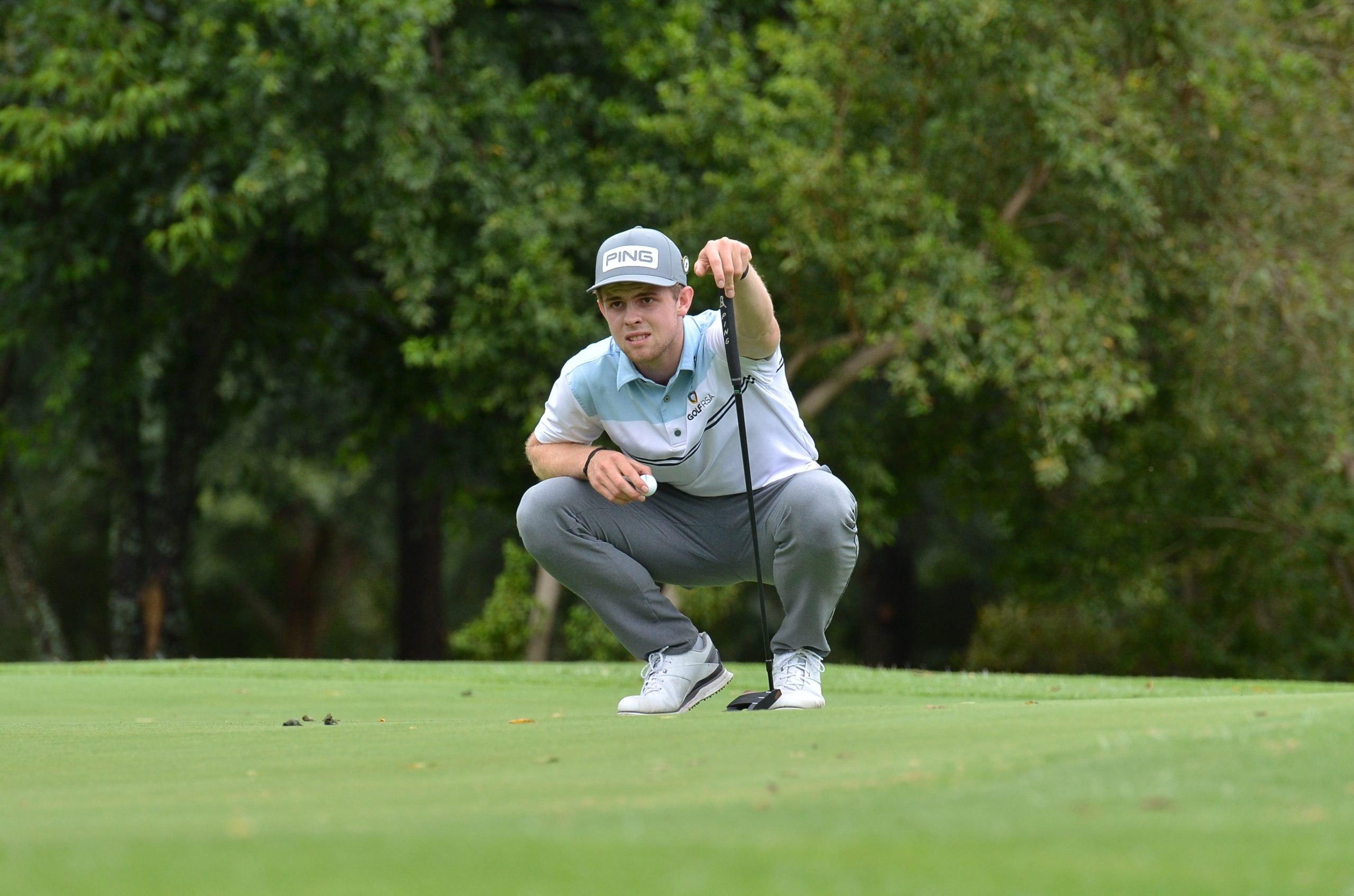 Unflappable Vorster on course for SA Stroke Play glory