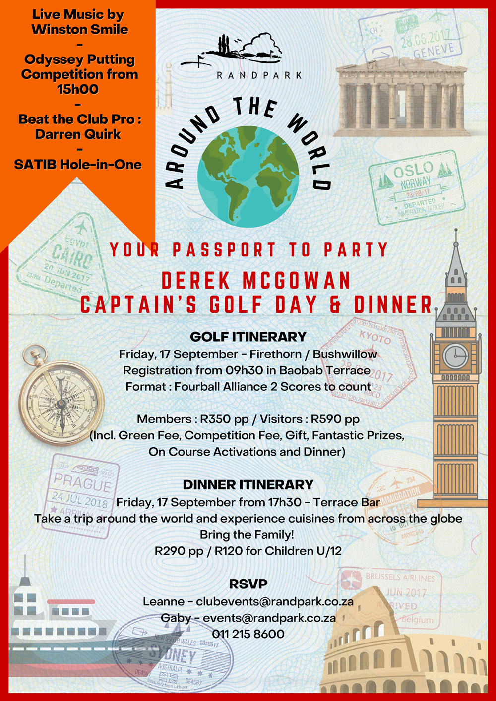 Captain's Golf Day and Dinner